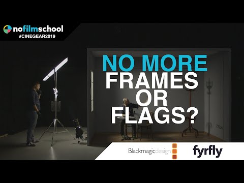 Free Your Set From Flags & Frames With The Lightbridge Cine Reflect Lighting System