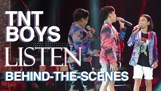 TNT Boys LISTEN: Behind-the-scenes