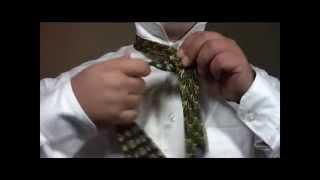 Как завязывать галстук узлом Св Андрей