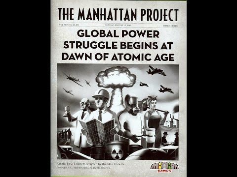 Off The Shelf Board Game Tutorials Presents - The Manhattan Project