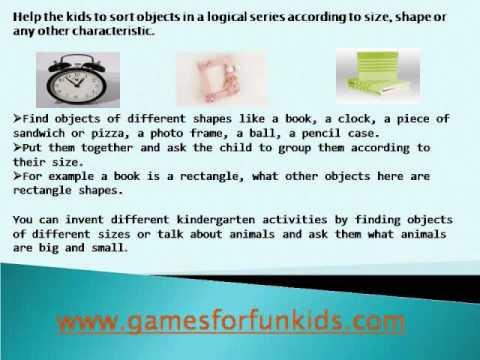 Kindergarten activities - how to teach creative and fun math - YouTube