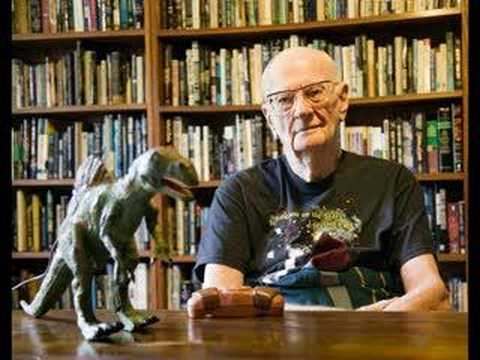 The last public message recorded by Sir Arthur C Clarke