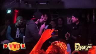 Kex Kuhl vs Smoke T - BenztownBattle / Rap Battle (WWB-Die Liga)