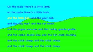 The little chick cheep KARAOKE HD Playback Instrumental Lyrics, Song