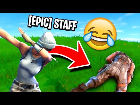 EPIC EMPLOYEE *CAUGHT* Trolling Fortnite Players!
