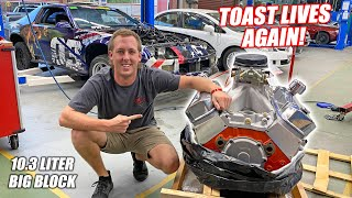 Finding TOAST a New Engine!! Installing and Firing Up the Fresh BALD EAGLES! (Kangaroo Infused)