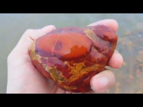Pedras semi preciosas/parte 2 no rio
