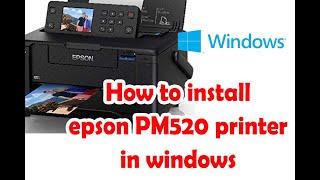 Epson Pm 520 Printer Driver Download