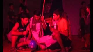 Group Singing Girls in Annual Function of Kendriya School Bilaspur Chhattisgarh