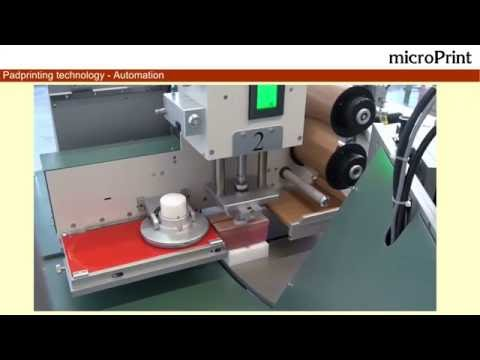 Pad printing system with microPrint LCN131