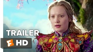 Alice Through the Looking Glass TRAILER 2 (2016) - Mia Wasikowska Sequel HD