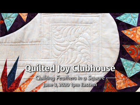 Quilted Joy Clubhouse June