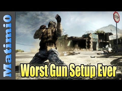 Failed Challenges - Worst Weapon Setup in Battlefield 4