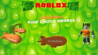 Roblox - Nickelodeon Kids' Choice Awards 2018 (Prizes)