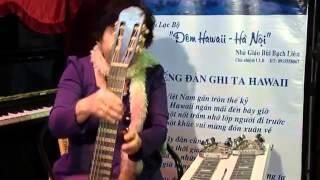 Hành trình nghệ sỹ với cây đàn Guitar Hawaii của nhà giáo Bùi Bạch Liên