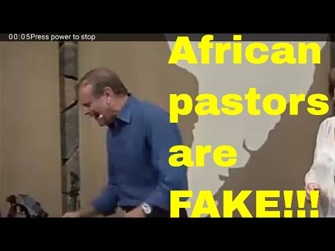 French Man: African pastors have hijacked Christianity for prosperity preaching