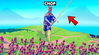 CHOP BECAME KING AND FOUGHT 1000 SOLDIERS WAR
