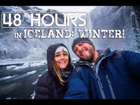 48 Hours in Iceland: Winter Edition!
