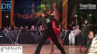 Part 2 Approach the Bar with DanceBeat! Paragon 2017! Amateur Latin! Allen Rudman and Svetlana Lisna