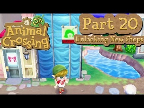 Animal Crossing: New Leaf - Part 20: Unlocking New Shops!