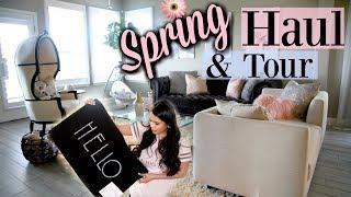 Spring Decor Haul & Tour! MissLizHeart