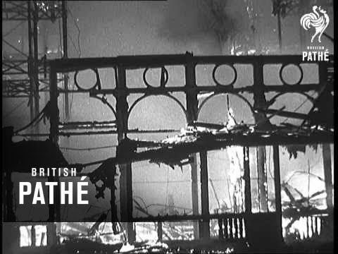 Crystal Palace Fire Aka Great Fire Destroys Crystal Palace (1936)
