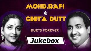Mohd Rafi Geeta Dutt Duets Forever GOLDSongs Mohammad Rafi Popular Songs Geeta Dutt Hits