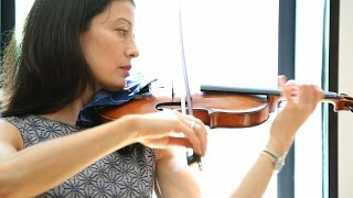 "Mozart Minute: Laura Frautschi (""Preparing to Play"")"