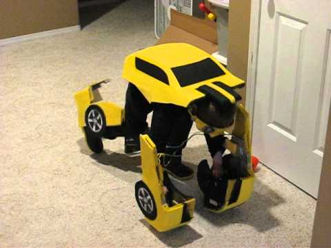Bumblebee Halloween Costume 2012 & Bumblebee Halloween Costume 2012 - YouTube