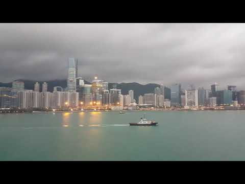 Hong Kong from Harmony of the Seas At Kowloon Port