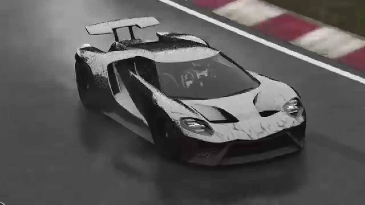 Forza  Nurburgring Rain Ford Gt