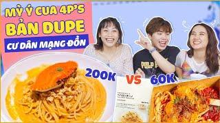 KIỂM CHỨNG Mỳ Ý Cua 4p's bản Dupe cư dân mạng đồn chỉ 60k với bản gốc 200k !!!!