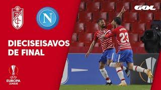 GRANADA CF 2-0 NÁPOLES - RESUMEN 1/16 DE FINAL DE EUROPA LEAGUE