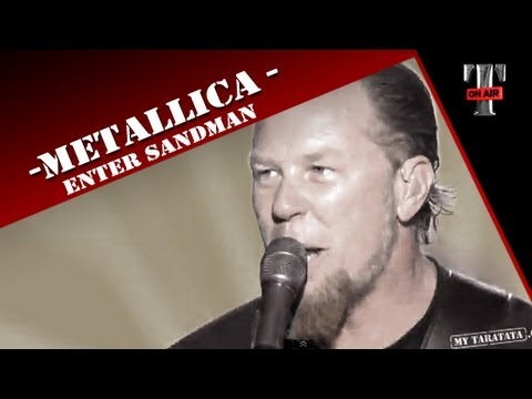 Metallica - Enter Sandman -  on TV TARATATA - Oct