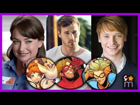 Marvel's NEW WARRIORS Announces Cast  Derek Theler, Calum Worthy  Lisa's Cheat Sheet