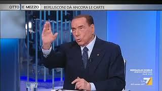 Silvio Berlusconi:  il mio obiettivo è quello di sottrarre il Paese al M5s. Io centrato sempre ...