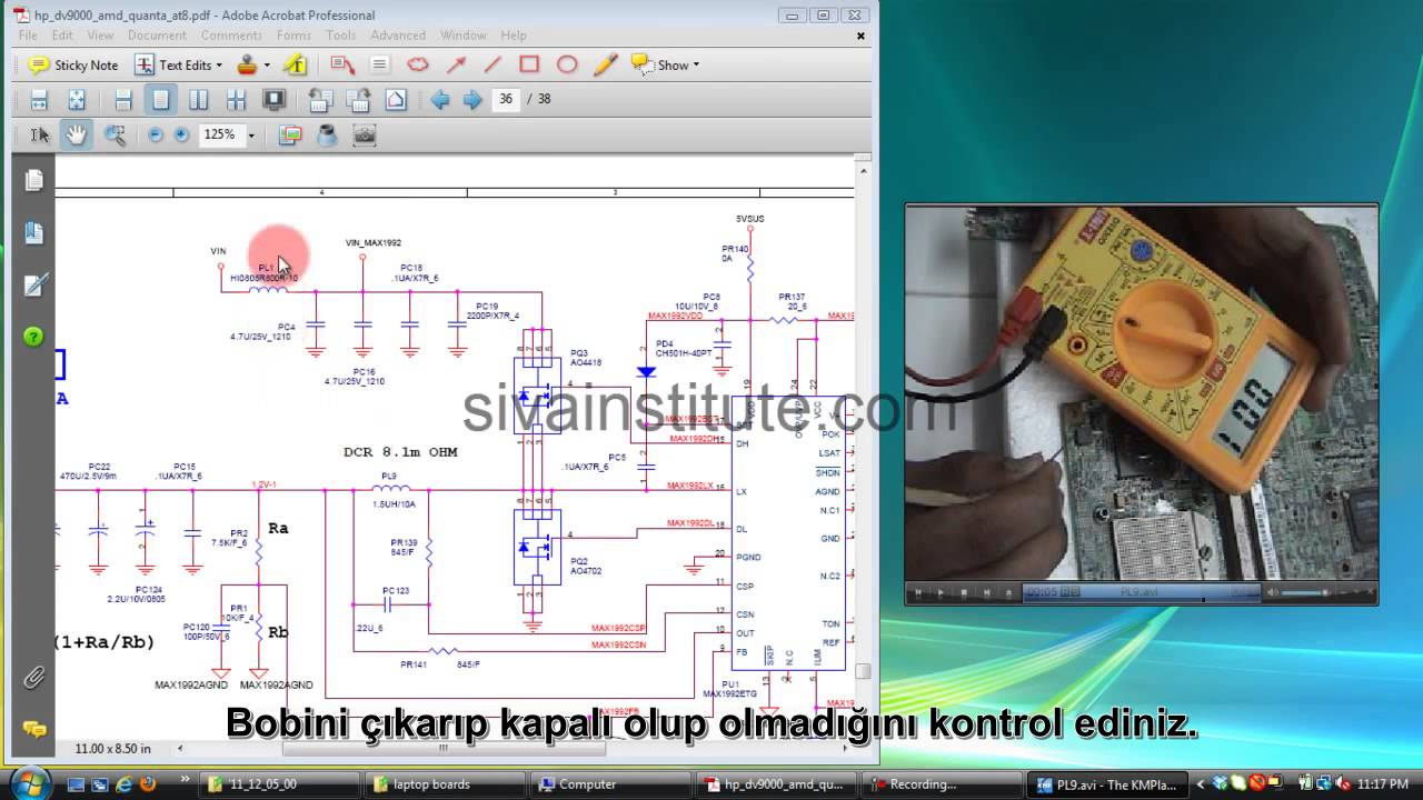 How to check dead short laptop motherboard step by step youtube