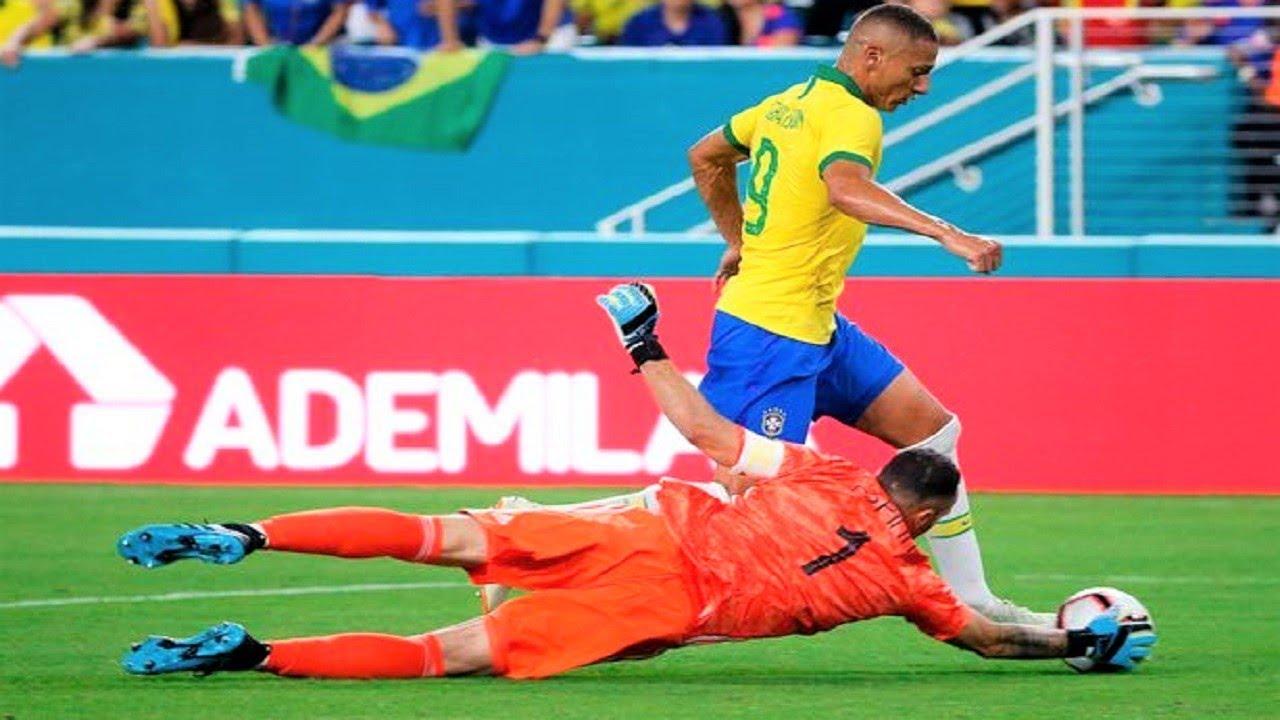 Brazil vs. Ecuador score: Neymar sets up Richarlison winner to ...