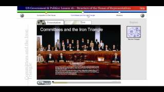 Saylor POLSC231: US Government & Politics: Lesson 16 - Structure of the House of Representatives