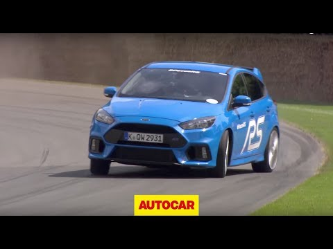 2016 Ford Focus RS road and track drive - www.autocar.co.uk