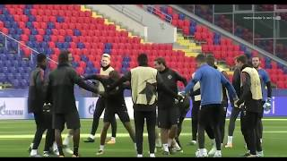 Manchester United Training Session & Preview of CSKA Moscow Match