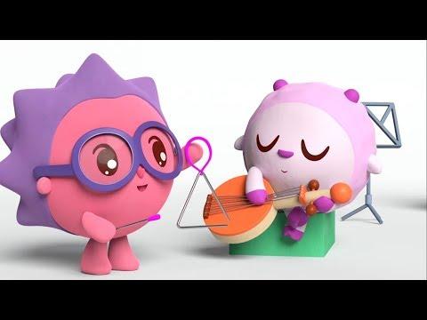 Малышарики -  Музыка - серия 146 - Обучающие мультфильмы для малышей - малышарики