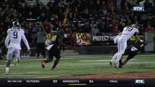 Michigan State At Maryland - Football Highlights