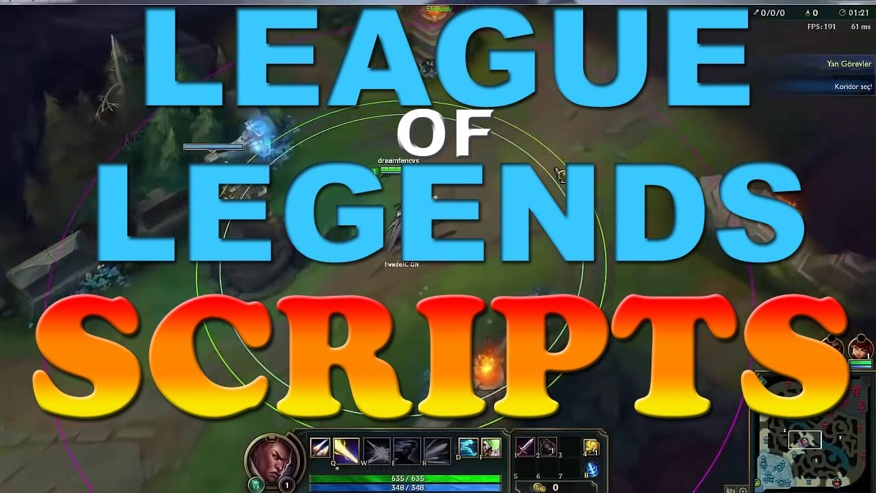 🔴 HOW TO GET LEAGUE OF LEGENDS SCRIPTS [FREE] [100% WORKING] 🔴