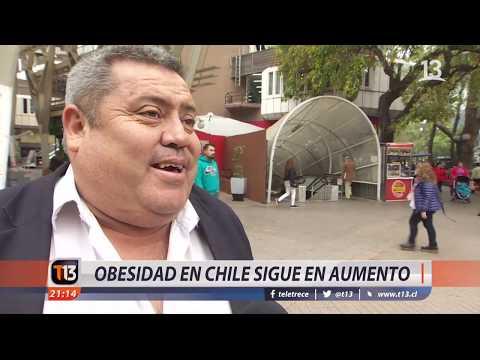 Obesidad en Chile sigue en aumento