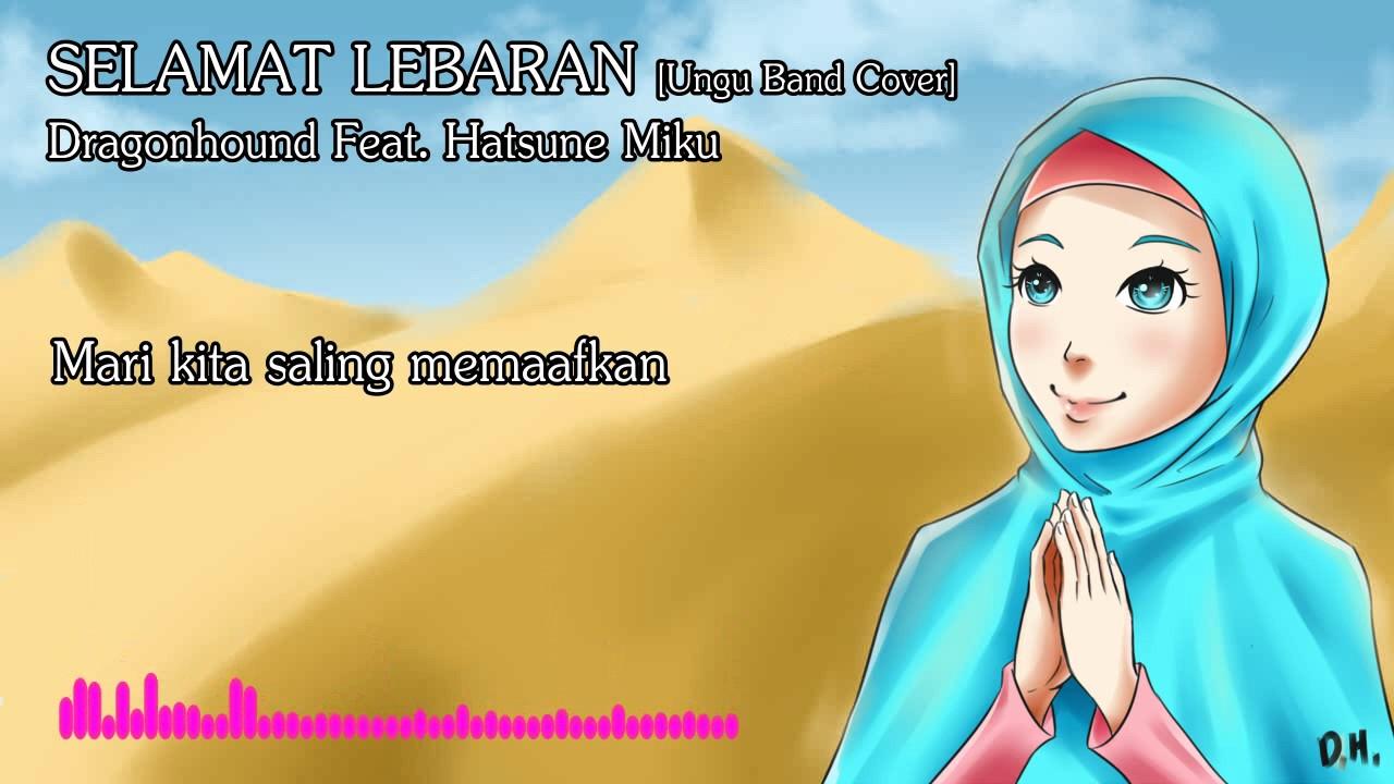 Selamat Lebaran Dragonhound Feat Hatsune Miku Ungu Band Cover