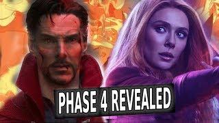 Marvel SDCC 2019 Hall H Panel Breakdown  MCU Phase 4 REVEALED!!!