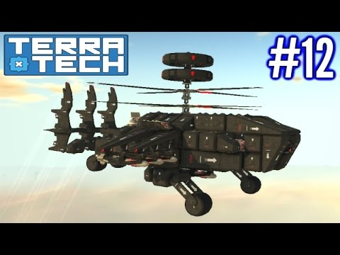 Terratech | Ep 12 | Hawkeye Helicopter Combat!