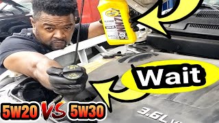 3.6 Pentastar V6 Problems. 5w20 or 5w30. Which oil better for stopping the PENTASTAR TICKING NOISE.