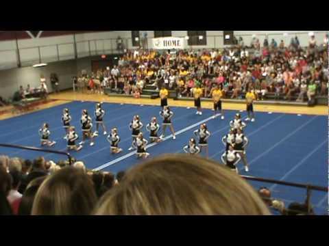 Lathrop High School Cheer Regionals 2010